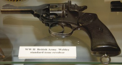 World War II British Army Webley Standard Issue Revolver