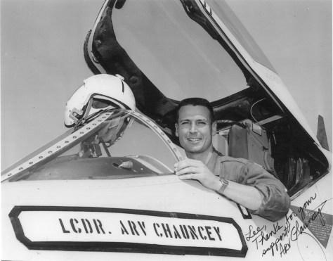 LCdr Arv Chauncey
