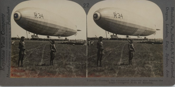 Dirigible R-34 at Mineola