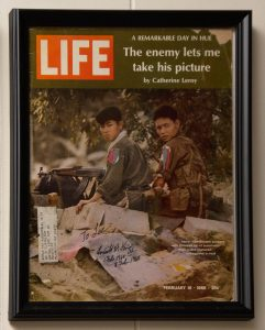 This issue is signed by Everett King, US Army, who was captured by these two NVA soldiers during Tet in the City of Hue. He escaped from them and was rescued by US Marines.