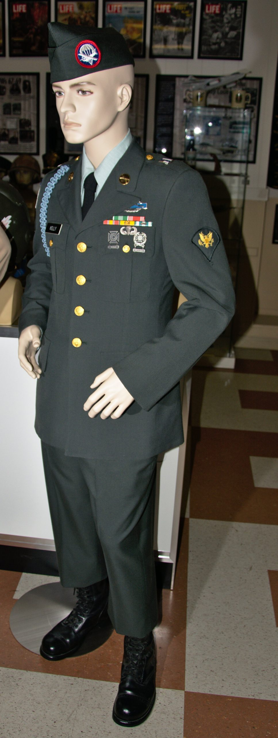 Specialist Kelly - US Army.