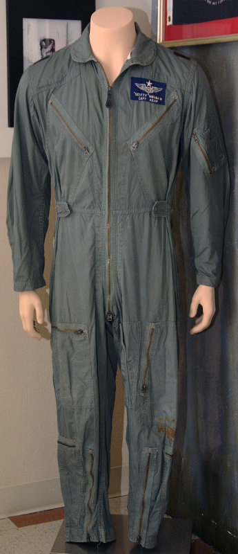 Col. Scotty Morgan, USAF - the only POW flight suit to come out of Hanoi. Sent to him by the North Vietnamese government in 2011 for reasons unknown. Scotty was the 4th POW captured in North Vietnam.