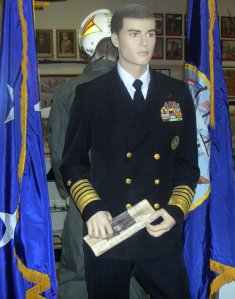 Admiral Gus Kinnear, US Navy in dress blues - WW II, Korean War, Cold War & Vietnam War