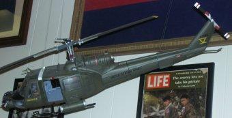 Vietnam War Huey helicopter