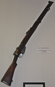 World War II British Lee Enfield Mk III .303 Rifle