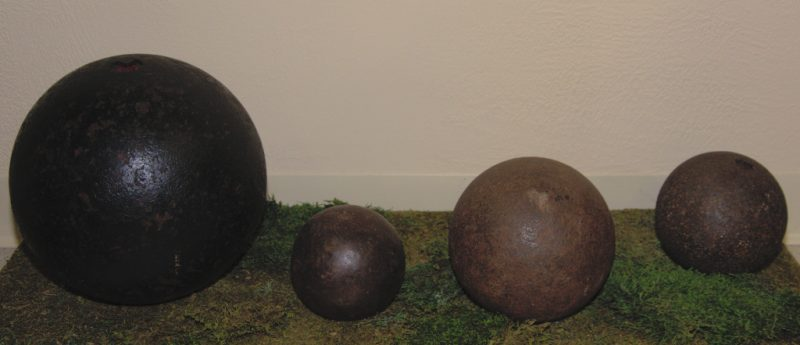 Civil War Cannon Balls