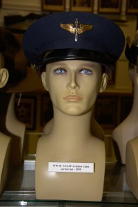 World War II US Army Air Forces Aviation Cadet service hat from 1939.