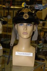 World War II Nazi National Socialist Kraft Korps (NSKK) motorcycle helmet