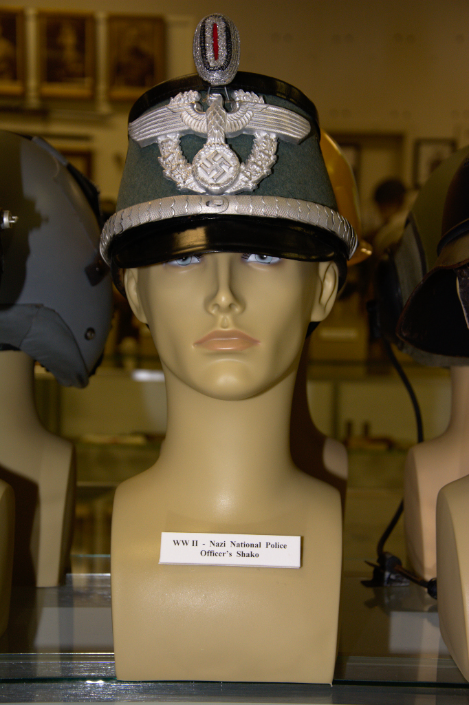 World War II Nazi National Police officer's shako