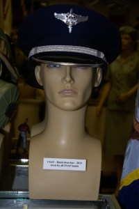 US Air Force Band dress hat from 2013.
