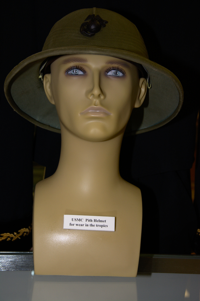 US Marine Corps tropical pith helmet