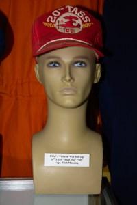 US Air Force Vietnam War ball cap worn by Capt. Dick Manning of the 20th TASS Bird Dog 69.