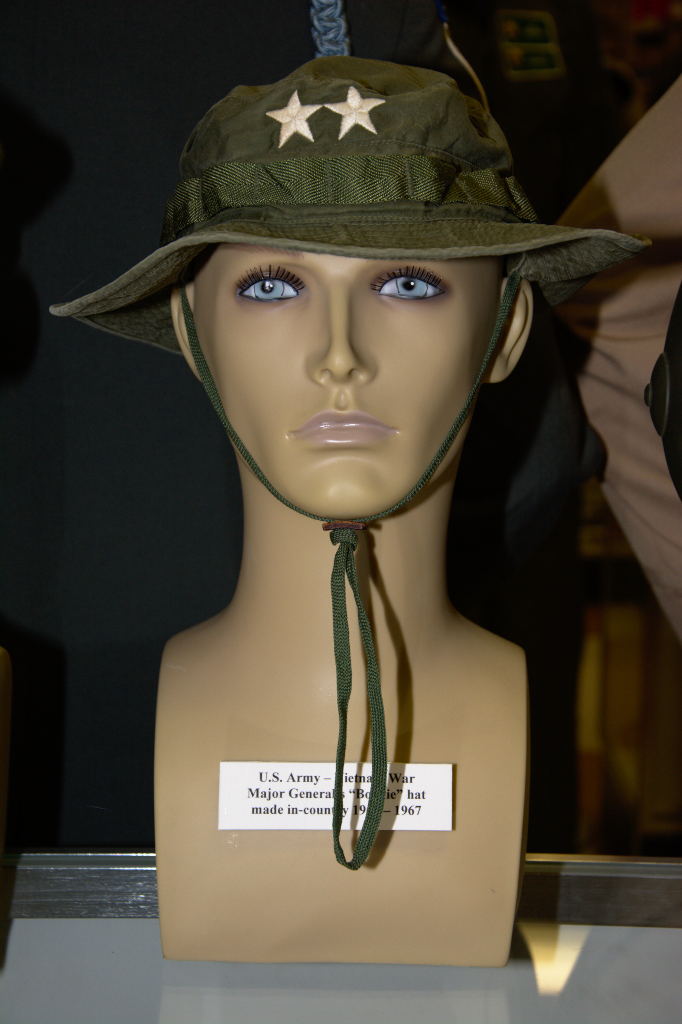 Vietnam War US Army major General's Boonie Hat, made in country in 1966 - 1967.