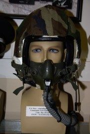 Vietnam War US Navy flight helmet worn by Capt. Ray Alcorn, POW 12-22-1965 to 02-12-1973.