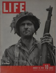 Life Magazine reporting about Normandy (D-Day).