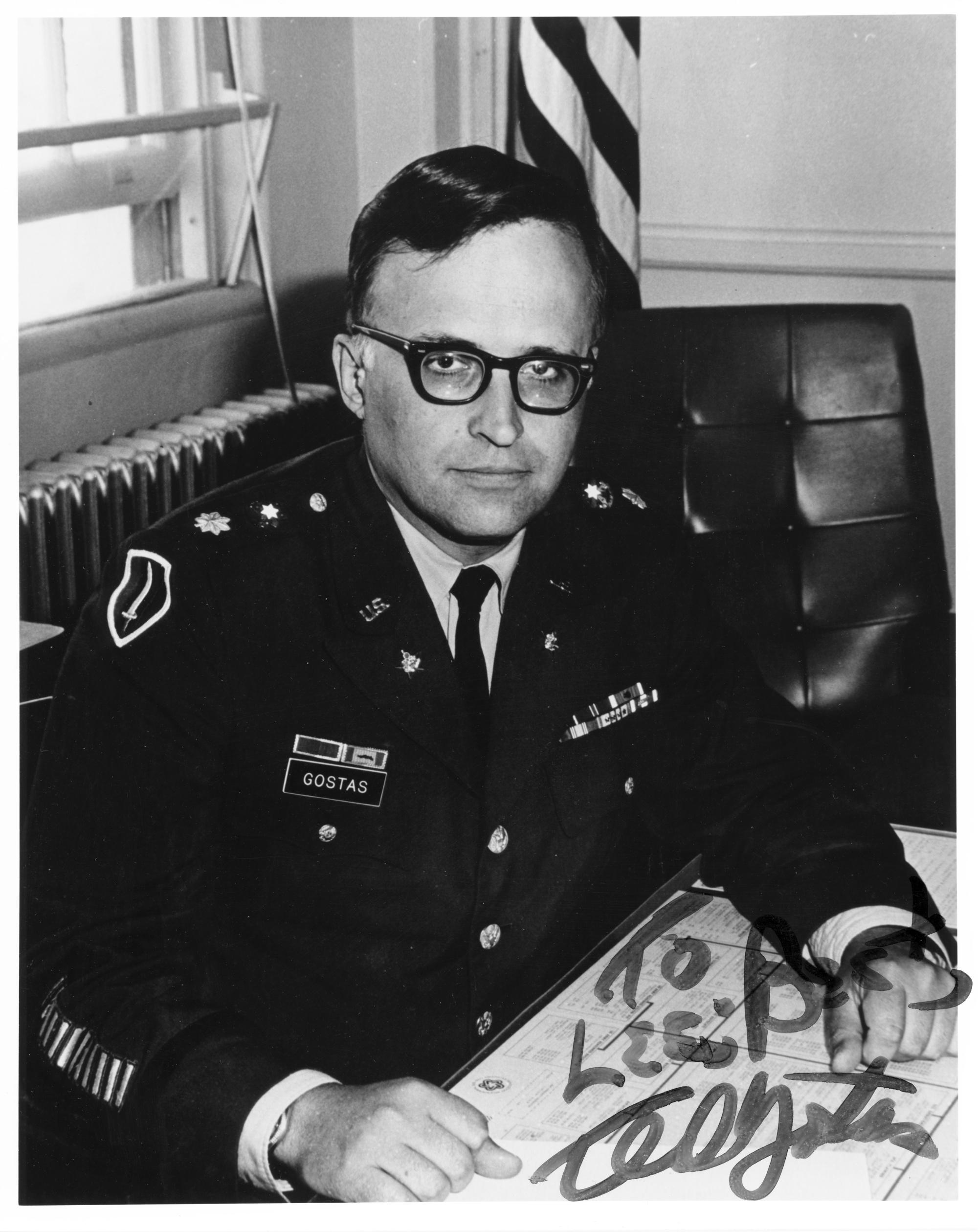 Maj Ted Gostas, US Army