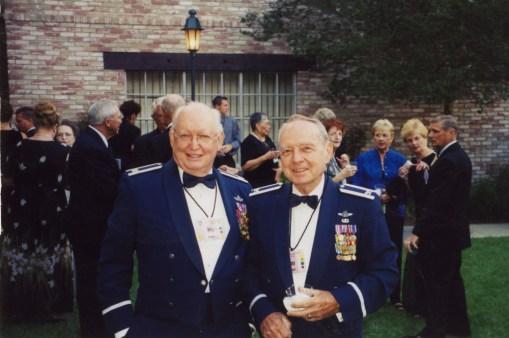 L.A. Reunion 2003 - Col Moe Baker and Col Jim Lamar