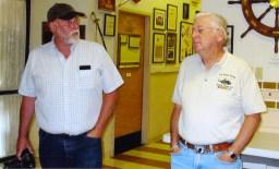 John Vedral And Capt Bill Arcuri