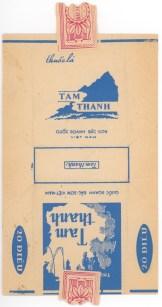 Blank Vietnamese cigarette wrapper