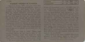 Yankee Troops in London