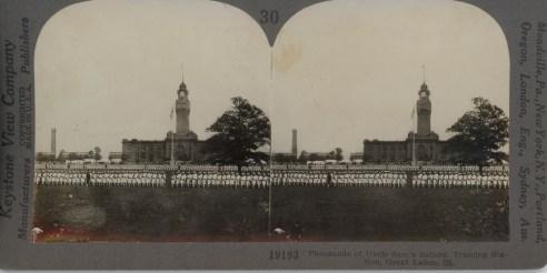 Thousands of Uncle Sam's Sailors