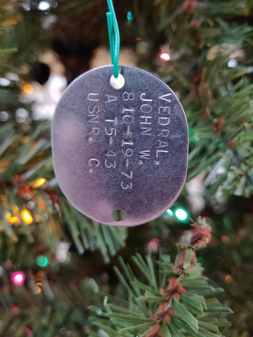Christmas Tree ID Tag