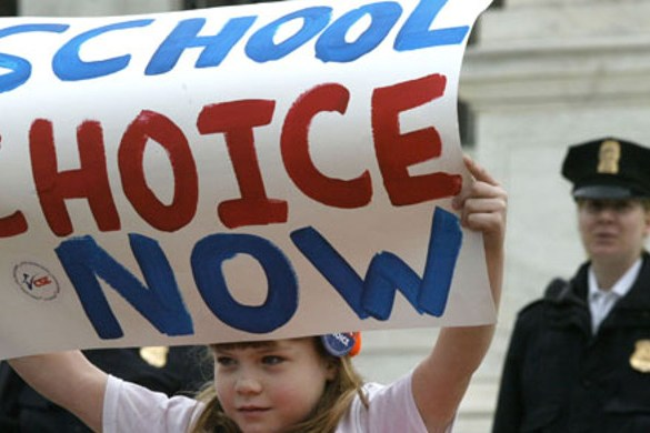 Standing up for School Choice
