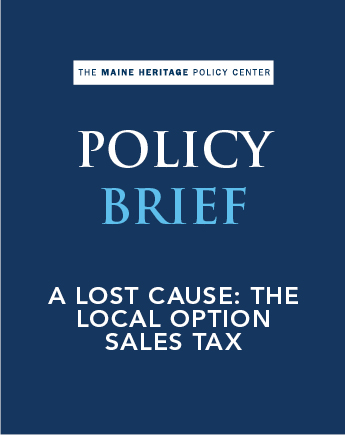 A Lost Cause: The Local Option Sales Tax