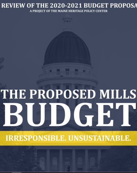 The Proposed Mills Budget: Irresponsible. Unsustainable.