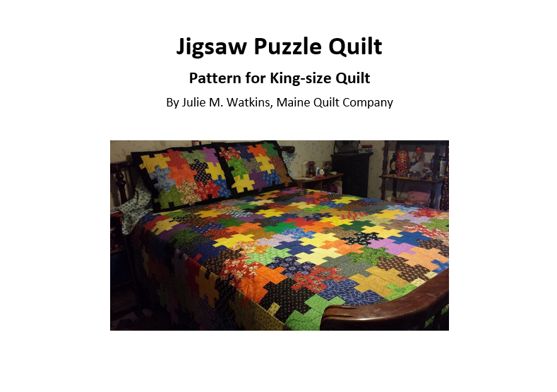 King Size Quilt Pattern Kits