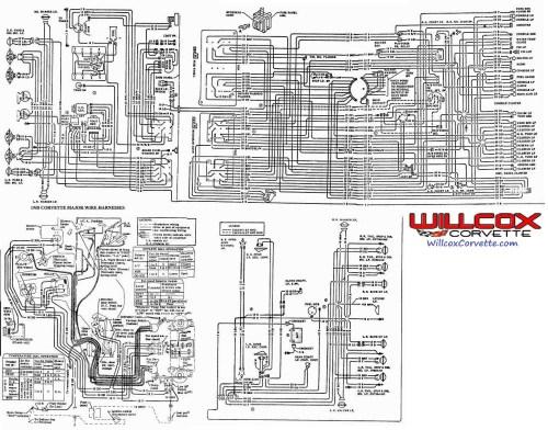 small resolution of 68 corvette wiring schematic wiring diagram third level rh 6 13 jacobwinterstein com 1964 corvette wiring harness 1968 corvette wiring harness