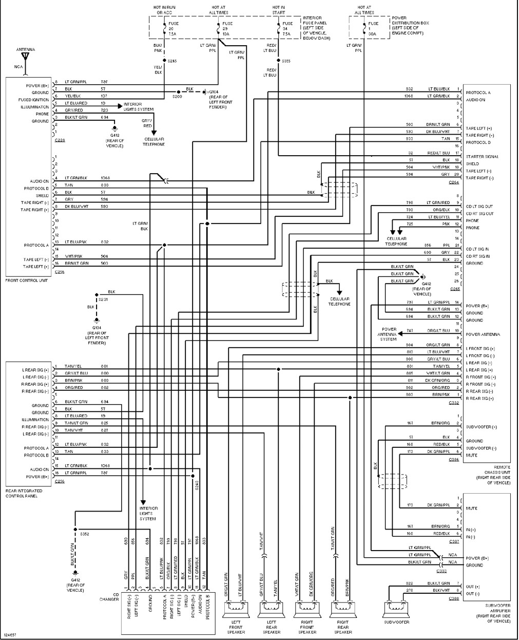 2002 Ford Ranger Stereo Wiring Diagram