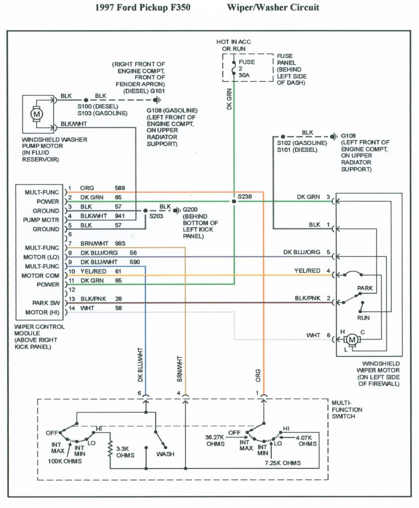hight resolution of ford factory stereo wiring diagram for 1997 f 350 wiring diagrams 1989 ford f350 radio wiring