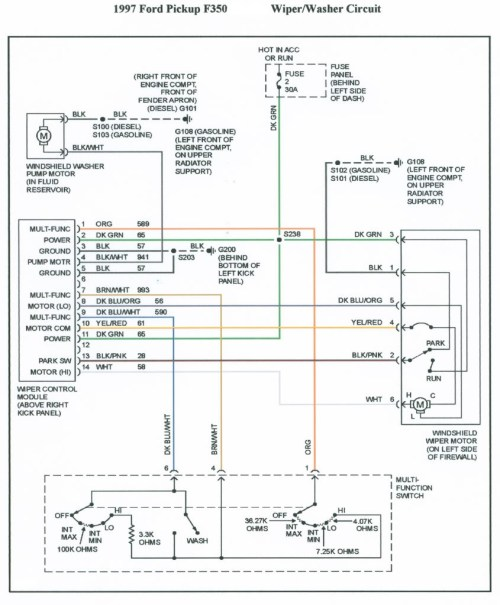 small resolution of ford factory stereo wiring diagram for 1997 f 350 wiring diagrams 1989 ford f350 radio wiring