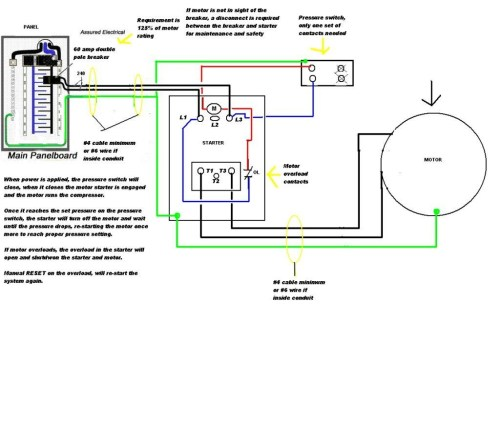 small resolution of 220v hot tub wiring diagram how to wire 5hp airr single phase motor reset in 1024x867