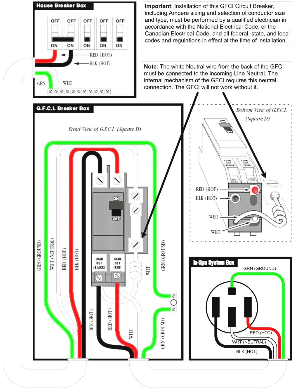 medium resolution of gfci breaker wiring diagram elegant gfi troubleshooting gallery free rh thespartanchronicle electric breaker box wiring diagram 240v plug