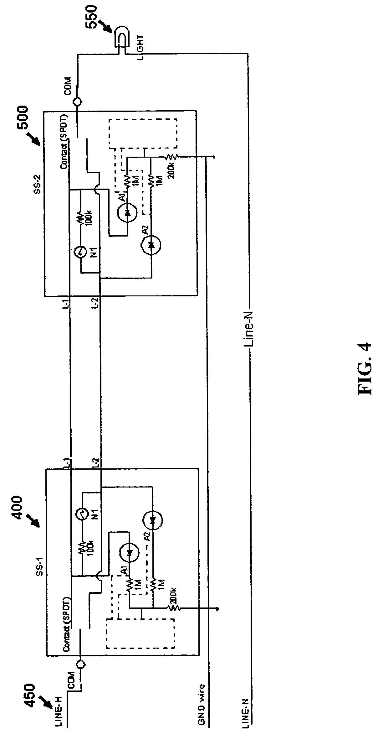 light sensor switch circuit diagram 2006 dodge ram 1500 factory radio wiring 3 way motion new