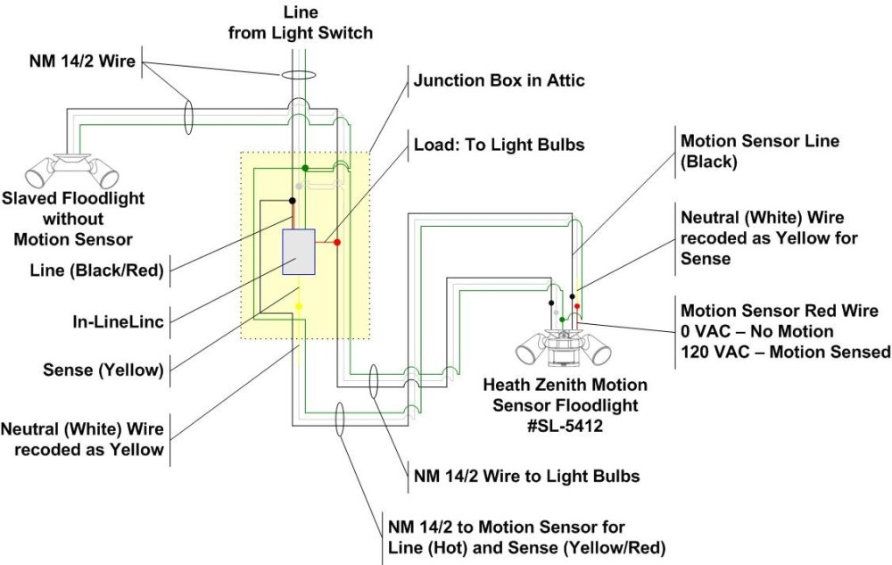 medium resolution of wrg 1907 476 motion detector wiring diagram 476 motion detector wiring diagram
