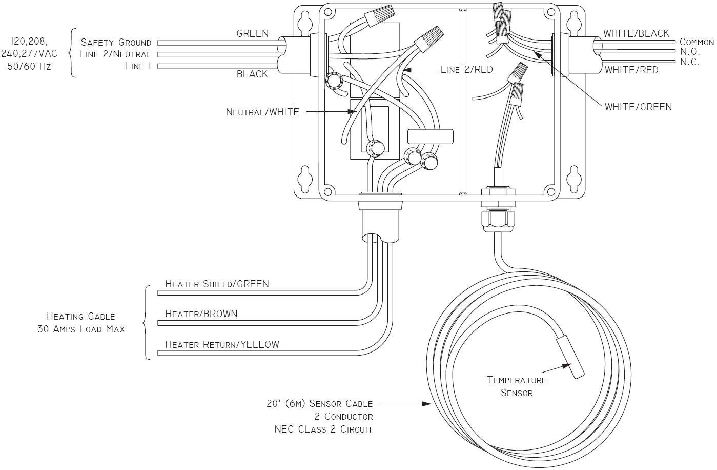 Baseboard Heater Wire Diagram