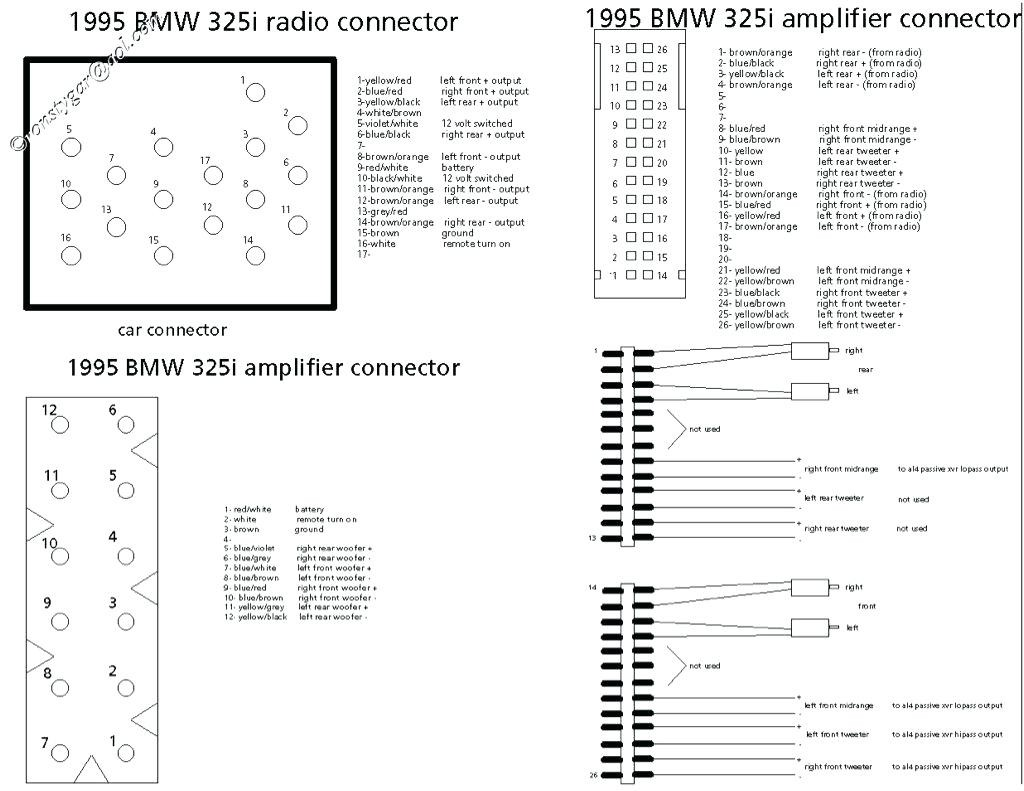 Wiring Diagram For Bmw Cd Changer: E i business cd player