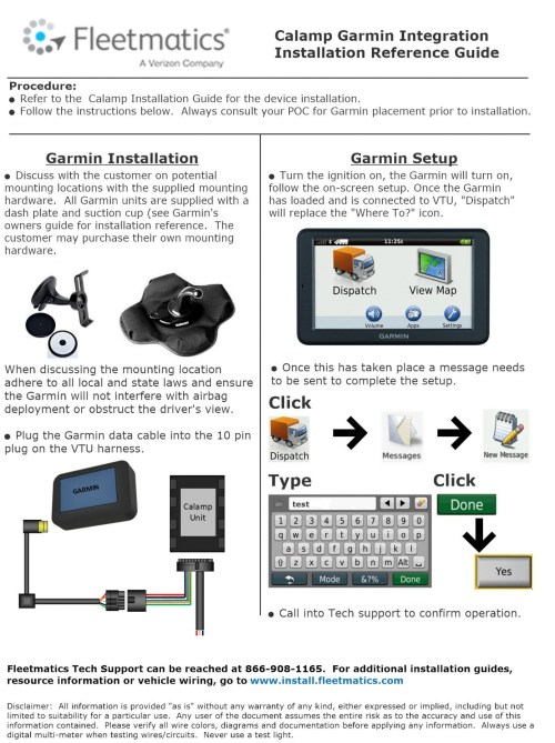 small resolution of calamp guides install fleetmatics garmin gps wiring diagram schematic physical layout drawing 1400