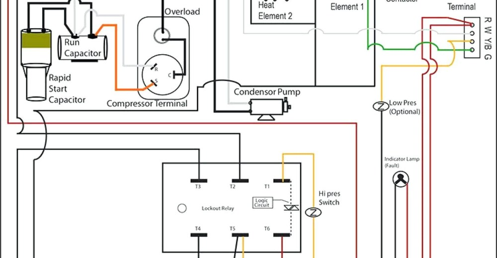 medium resolution of relay schematic full size of central air conditioner wiring schematic heating gorgeous