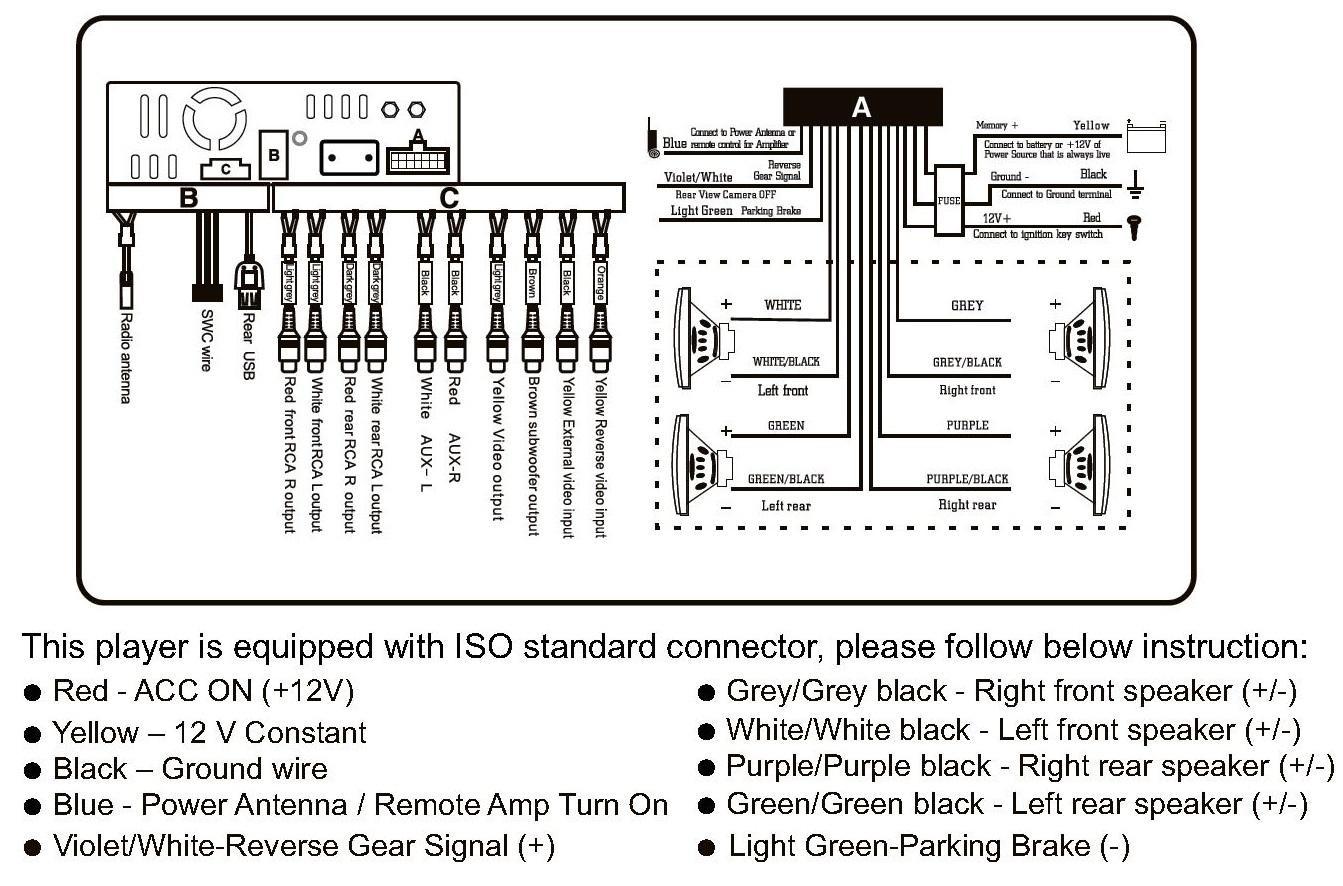 wiring diagram vz stereo