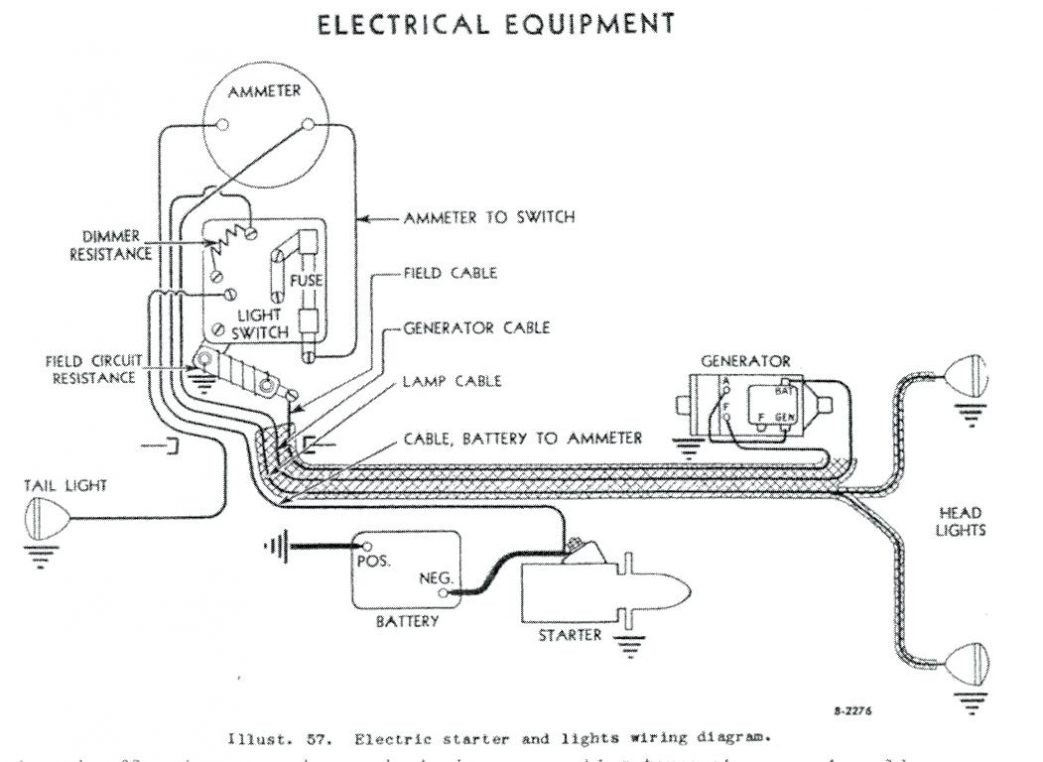 12 Volt Farmall H Wiring Diagram