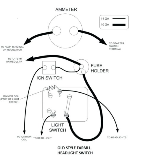 small resolution of farmall h light switch wiring diagram opinions about wiring diagram u2022 farmall h electrical wiring