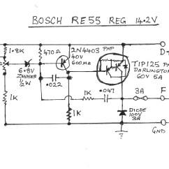 Ford Alternator Wiring Diagram External Regulator Dodge Ram Front End Voltage Library