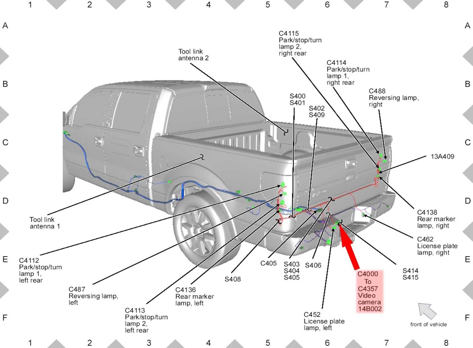 stop turn tail light wiring diagram 1996 dodge neon stereo ford f350 lights unique image