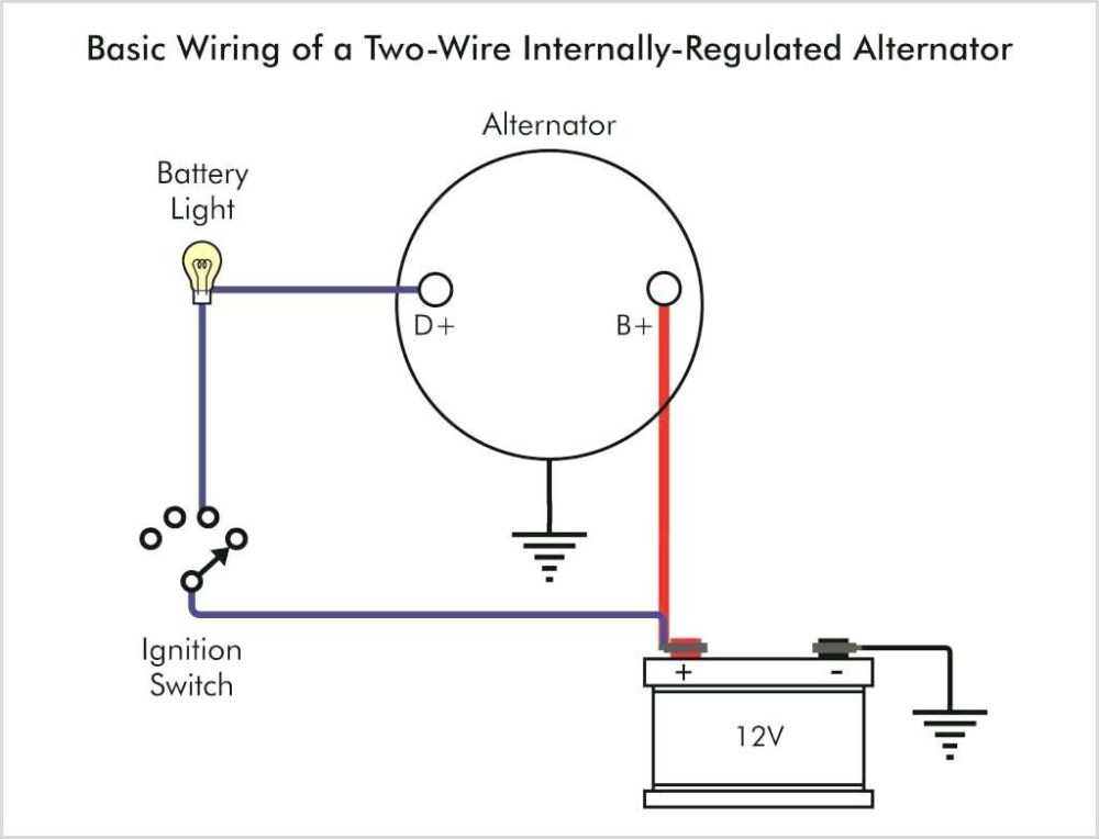 medium resolution of one wire alternator diagram schematics wiring diagram used and there is the diagram for wiring that one