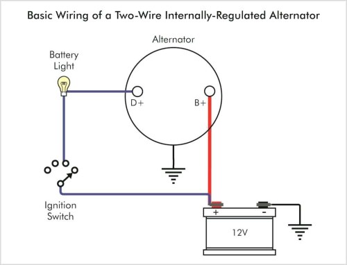 small resolution of one wire alternator diagram schematics wiring diagram used and there is the diagram for wiring that one