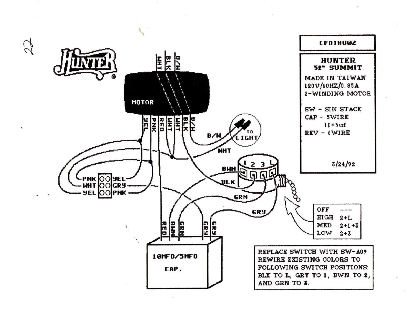 Hampton Bay 3 Speed Ceiling Fan Switch Wiring Diagram New